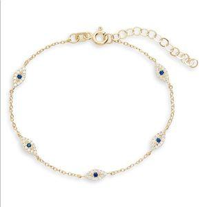 Adina's jewels evil eye bracelet